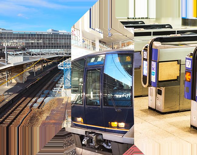 お仕事もプライベートも便利 大阪駅まで約10分