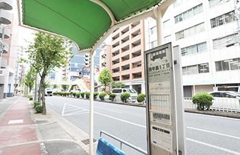 西中島一丁目バス停